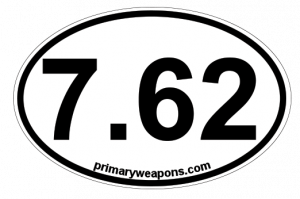 PWS 7.62 Bumper Sticker